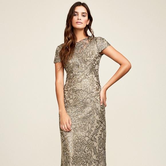 1d22a8c4 Tadashi Shoji Dresses   Gracelyn Evening Gownstretchnwt   Poshmark